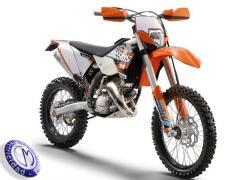MOTOCICLETA KTM modelo 125EXC-SIX-DAYS