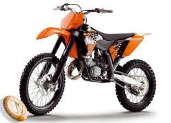 MOTOCICLETA KTM modelo 144SX