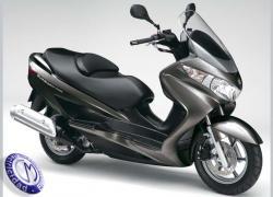 MOTOCICLETA SUZUKI modelo 200,BURGMAN