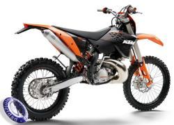 MOTOCICLETA KTM modelo 200EXC