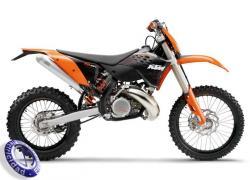 MOTOCICLETA KTM modelo 250EXC