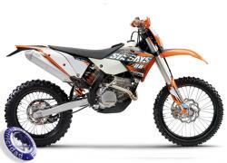 MOTOCICLETA KTM modelo 250EXCF-SIX-DAYS