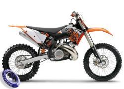 MOTOCICLETA KTM modelo 250SX