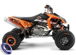 ATV KTM modelo 450,SX