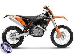 MOTOCICLETA KTM modelo 450EXC