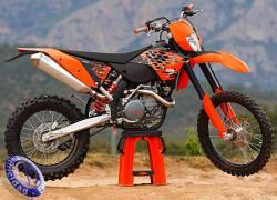 MOTOCICLETA KTM modelo 450EXC-R