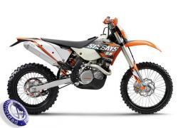 MOTOCICLETA KTM modelo 450EXC-SIX-DAYS