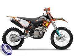 MOTOCICLETA KTM modelo 450SXF