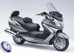MOTOCICLETA SUZUKI modelo 650,BURGMAN-EXECUTIVE