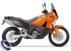 MOTOCICLETA KTM modelo 990,ADVENTURE