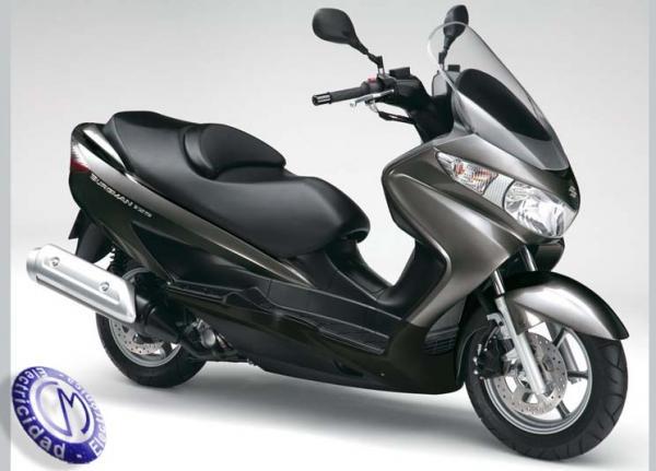 MOTOCICLETA SUZUKI modelo 125,BURGMAN