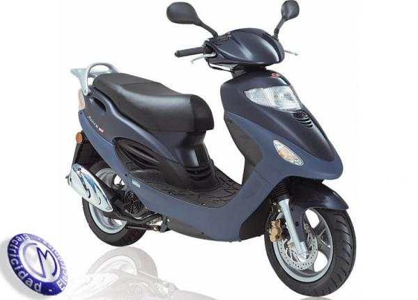 MOTOCICLETA KYMCO modelo 125,MOVIE-XL