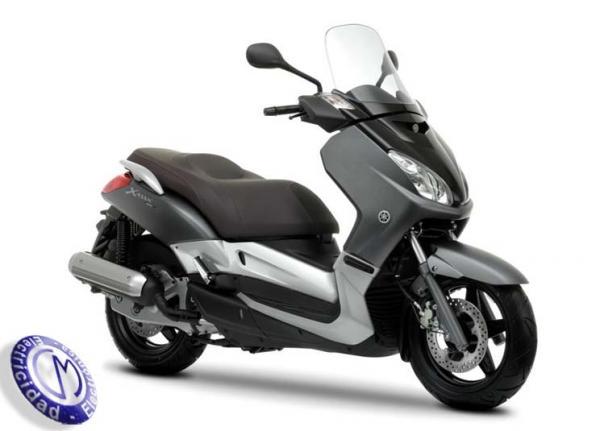 MOTOCICLETA YAMAHA modelo 125,X-MAX