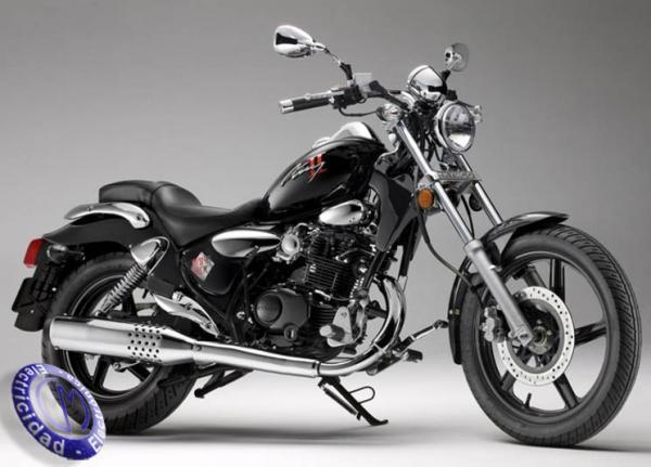 MOTOCICLETA KYMCO modelo 125,ZING-II-DARKSIDE