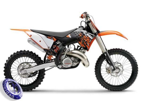 MOTOCICLETA KTM modelo 150SX