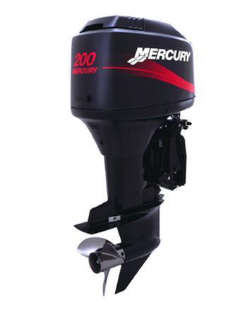 OUTBOARDS MERCURY modelo 200L 2 TIEMPOS 200 HP