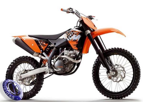 MOTOCICLETA KTM modelo 250SXF