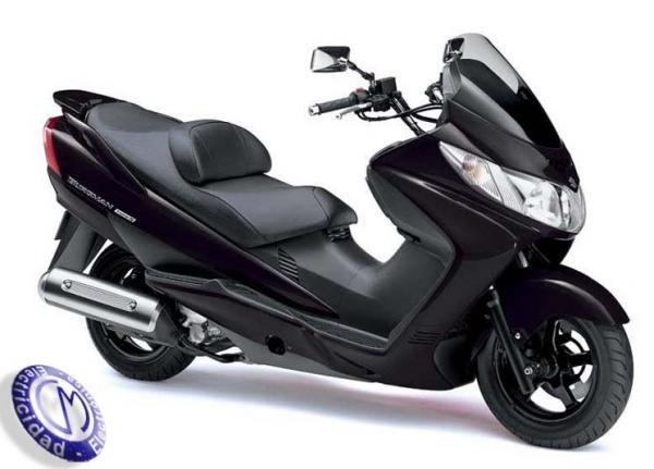 MOTOCICLETA SUZUKI modelo 400,BURGMAN-S
