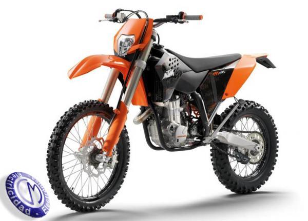 MOTOCICLETA KTM modelo 400EXC