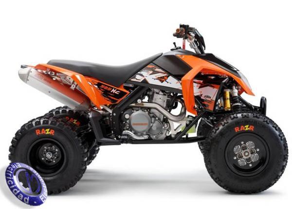 ATV KTM modelo 450,XC