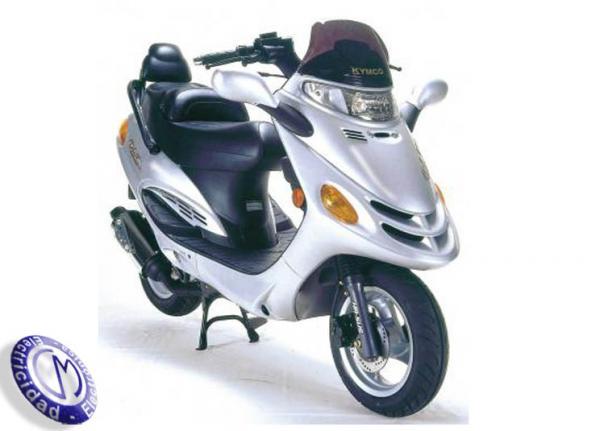 MOTOCICLETA KYMCO modelo 50,DINK-LC