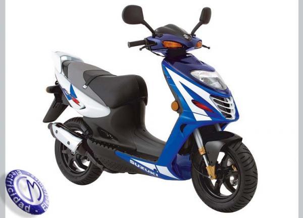 MOTOCICLETA SUZUKI modelo 50,KATANA-R
