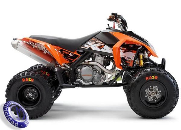ATV KTM modelo 525,XC
