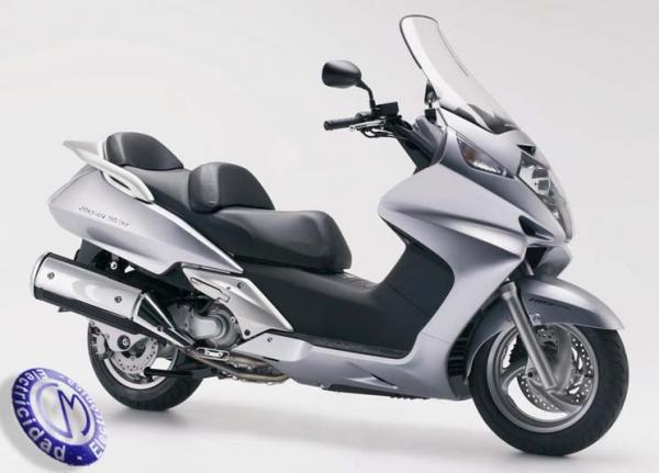 MOTOCICLETA HONDA modelo 600,SILVERWING