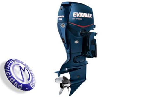 OUTBOARDS EVINRUDE modelo E-TEC90-INLINE-3