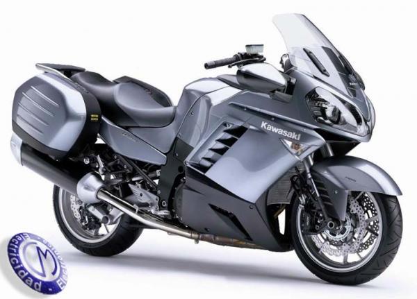 MOTOCICLETA KAWASAKI modelo GTR1400