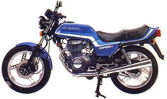 MOTOCICLETA HONDA modelo CB400