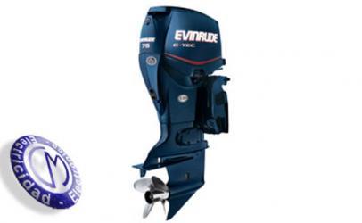 OUTBOARDS EVINRUDE modelo E-TEC75-INLINE-3