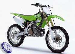 MOTOCICLETA KAWASAKI modelo KX250