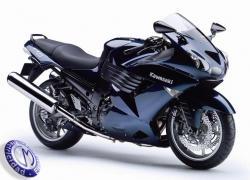 MOTOCICLETA KAWASAKI modelo ZZR1400