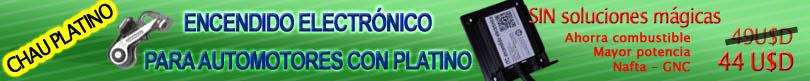 encendido electronico para motores con platino, ayuda platino