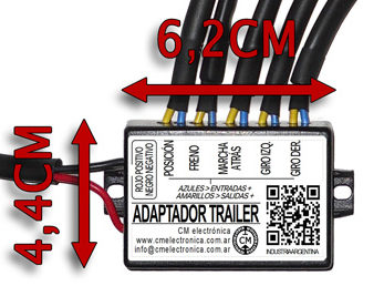 Modulo adaptador para luces de trailer