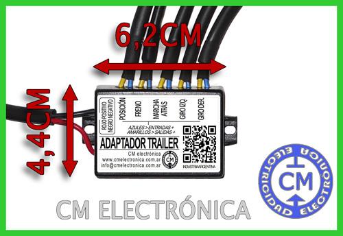 modulo adaptador luces tariler t1-5-70