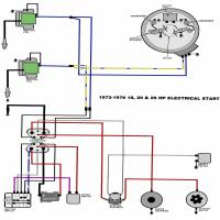 Evinrude Johnson on 76 Evinrude Wiring Diagram