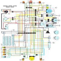 diagrama honda cb 250 350 2001 yz 125 wiring diagram