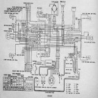 honda-cb200t  Yamaha V Star Wiring Diagram on