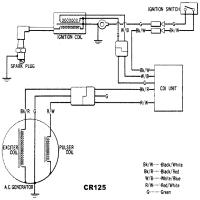 cr125 wiring diagram home wiring diagrams  honda cr 125 cdi wiring diagram #1
