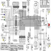 vista previa de la imagen honda loom cb100n cb125n points 6v
