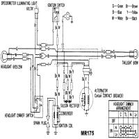 Honda Mr175 Wiring Diagram