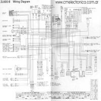 Kawasaki Zl600b together with  on vespa gs wiring diagram
