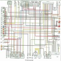 kawasaki-zzr600_99-on Yamaha Outboards Wiring Diagram on for tachometer, parts meters speed, f25tlry, for 6hp, tilt trim gauge,