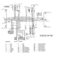 similiar suzuki gn wiring diagram keywords gn400 custom besides suzuki gn 250 on suzuki gn 400 wiring diagram