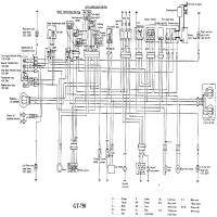 Wiring Diagram For Yamaha Tw 200 together with Suzuki Gs750 Wiring Diagram besides Suzuki Gt750 likewise  on yamaha xt600e wiring diagram