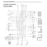 Diagrama suzuki vx800CM Electronica