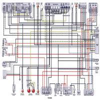 diagrama yamaha trx850