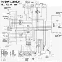 yamaha xt 550 wiring diagram diagrama yamaha xt400 xt550  diagrama yamaha xt400 xt550
